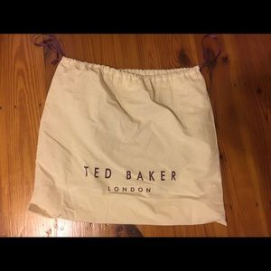 Ted Baker London Bags - Camel and black Ted Baker leather tote